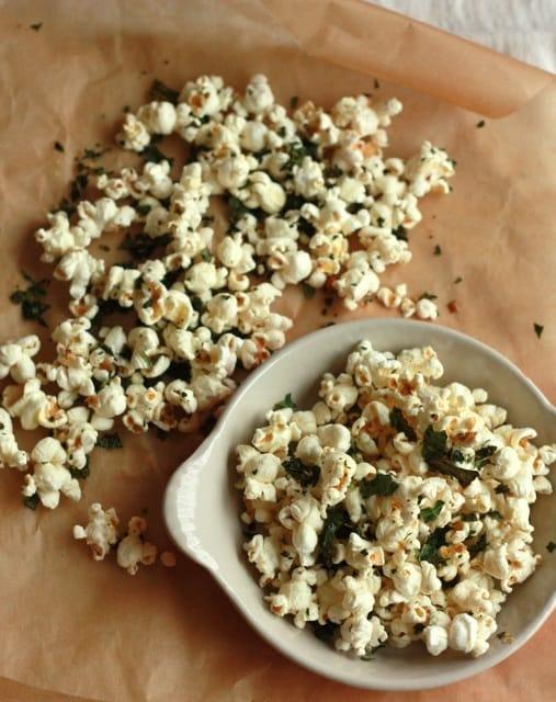 Kale Chip Popcorn