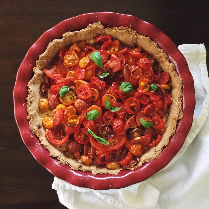Tomato Pie and a New Blogger!