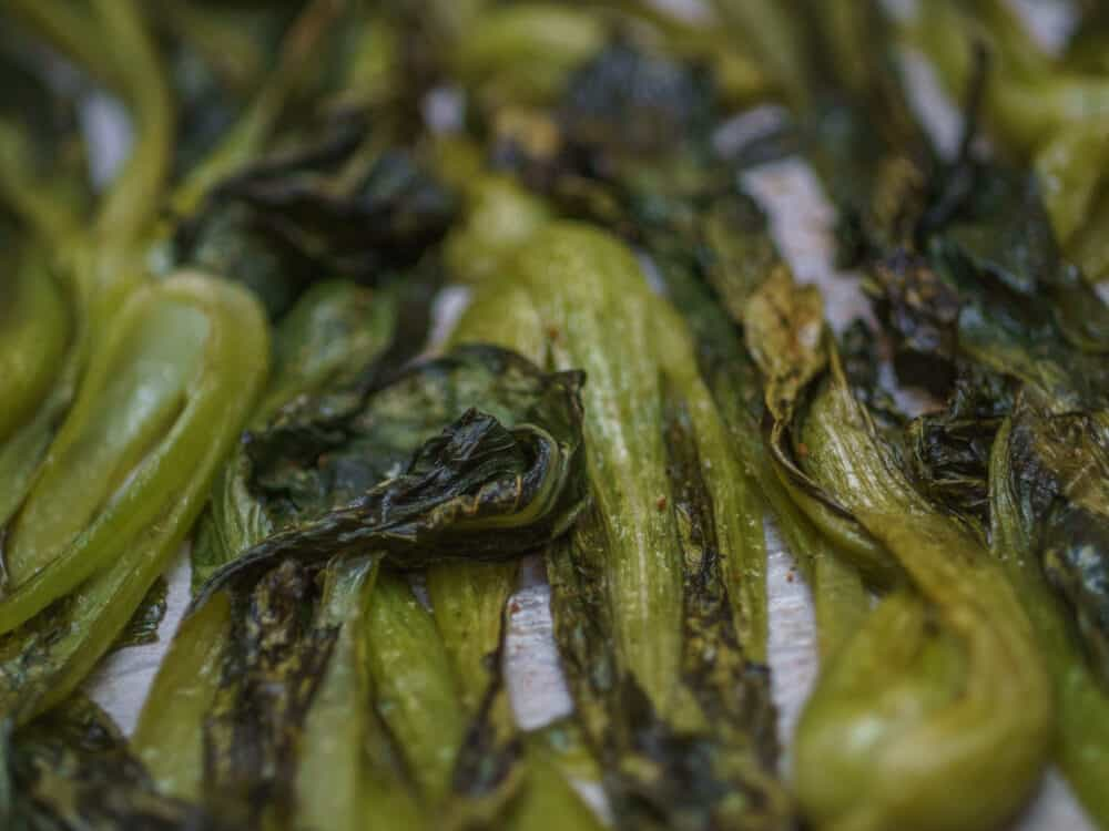 Roasted Pac Choi