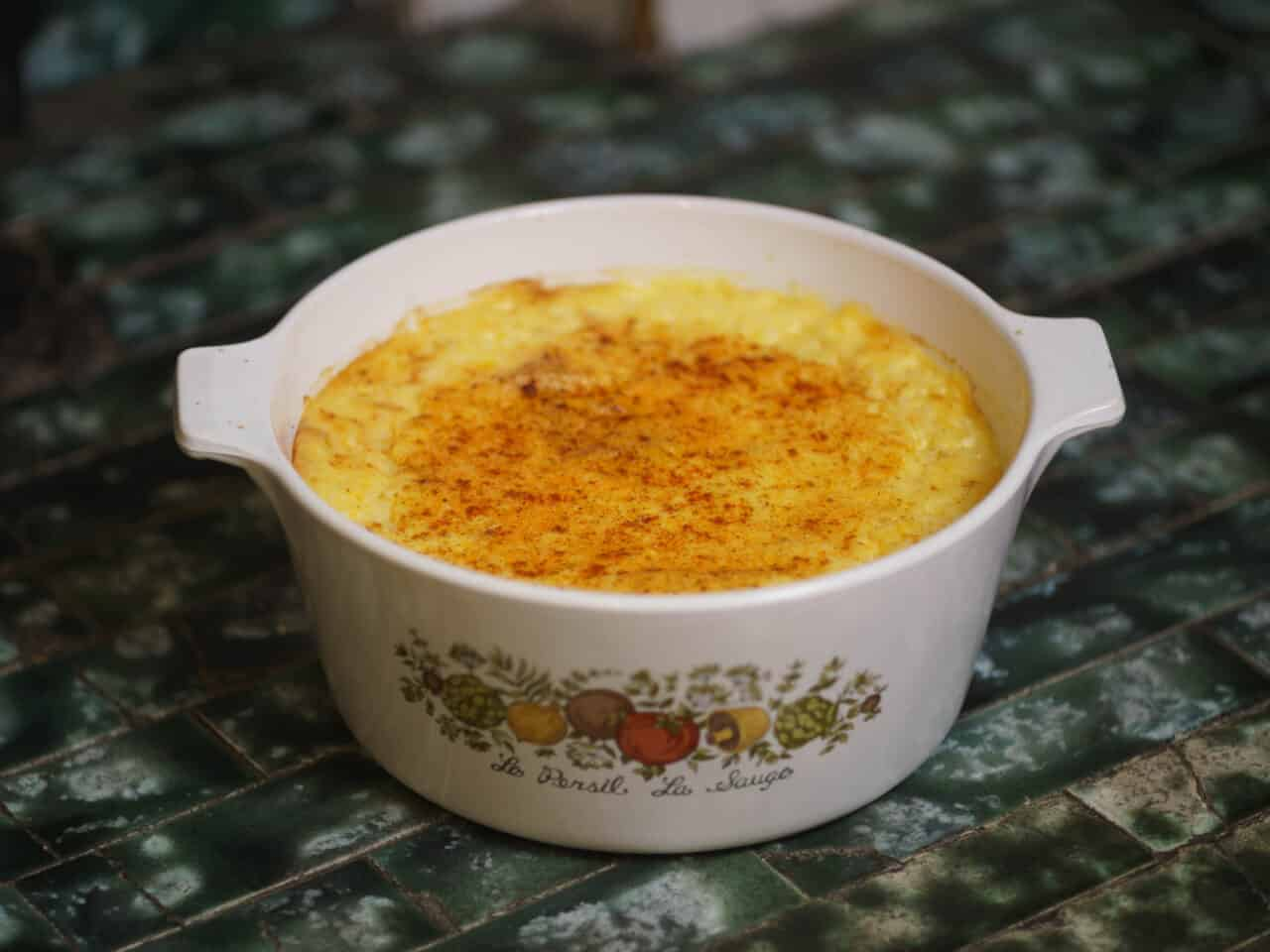 Grits and Cheese Casserole