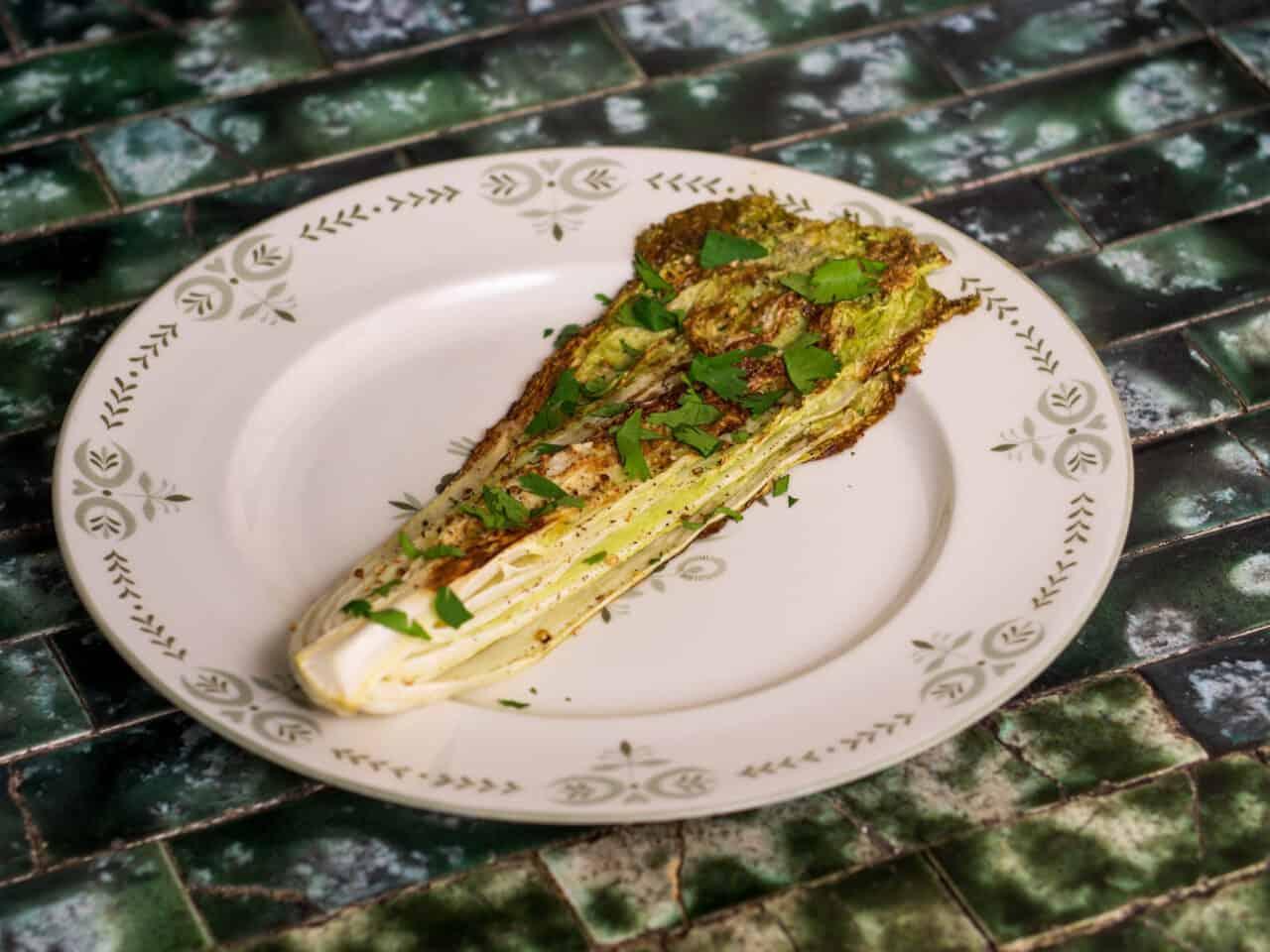 Roasted Napa Cabbage