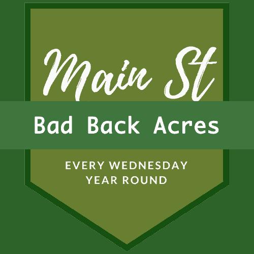 Bad Back Acres Logo