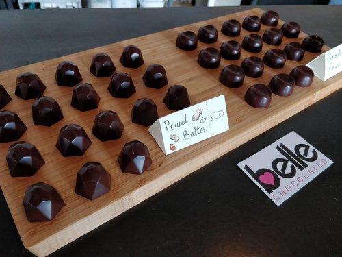 Belle Chocolates Display