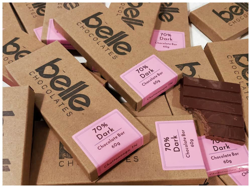 Belle Chocolates Packaging