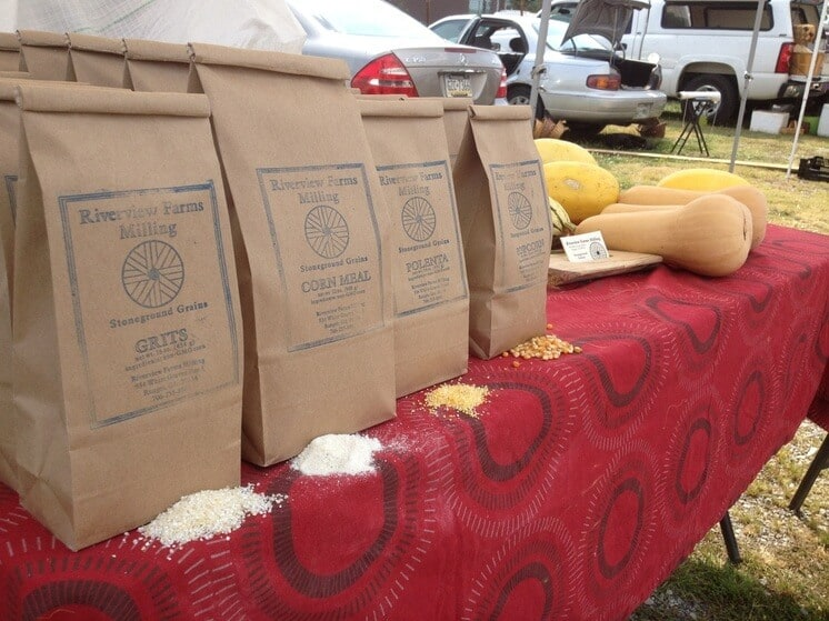 Riverview Farm Milling at the Market