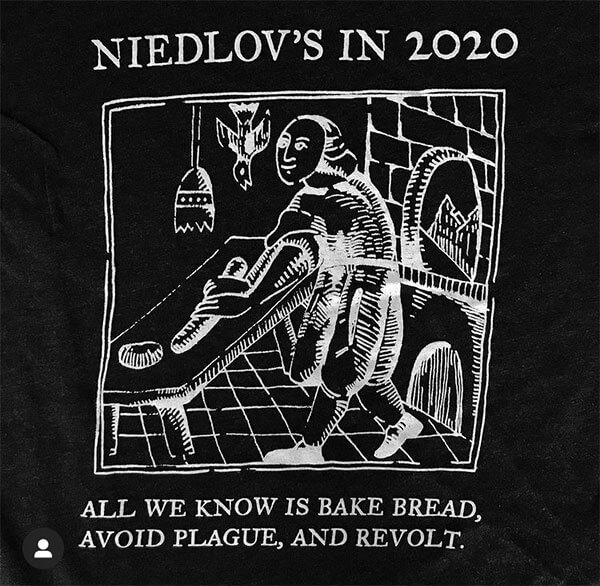 Niedlov's t-shirt
